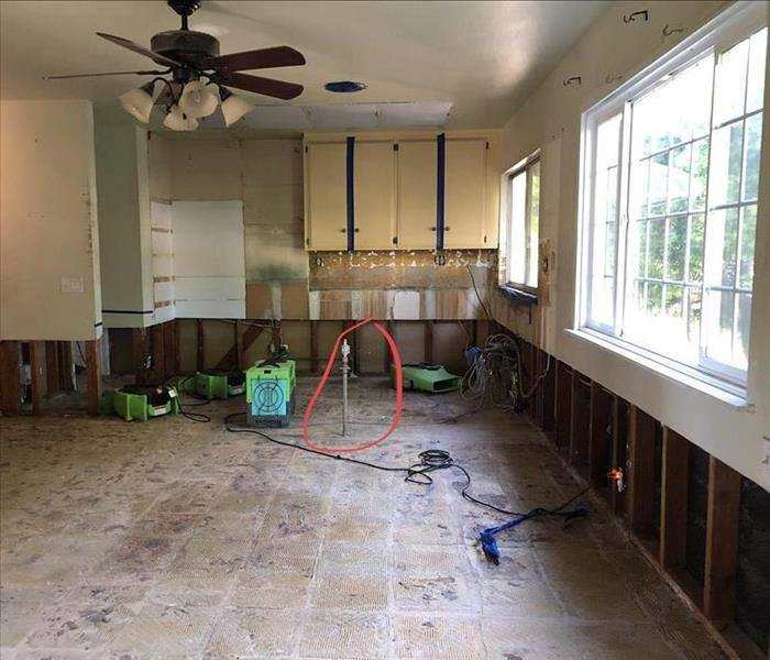 Kitchen Remodel After Water Damage