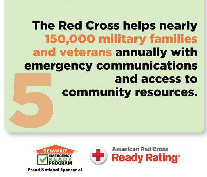 Community SERVPRO and American Red Cross Partnership