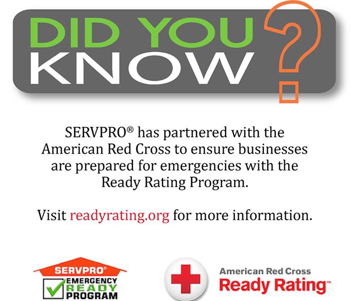 Community American Red Cross & SERVPRO in Orange County