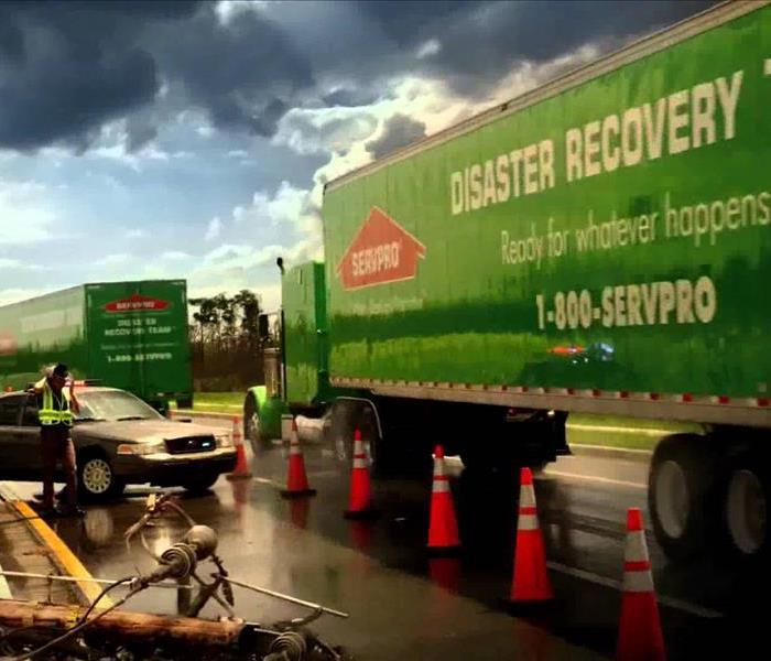 Storm Damage When June Gloom Storms Hit Dana Point, SERVPRO is Ready!